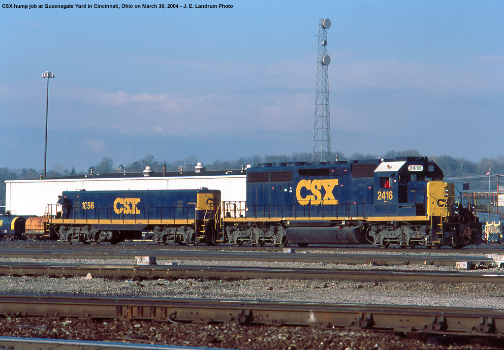 The Journey Indianapolis >> CSX Queensgate Yard